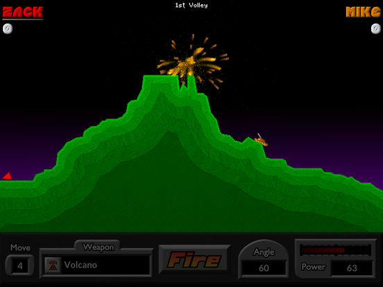 Pocket Tanks Deluxe iPad Screenshot 1