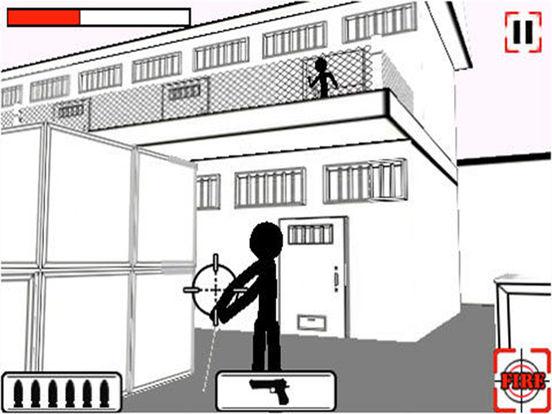 Doodle Shooter Lite iPad Screenshot 1