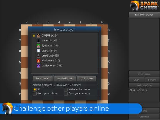 SparkChess iPad Screenshot 2
