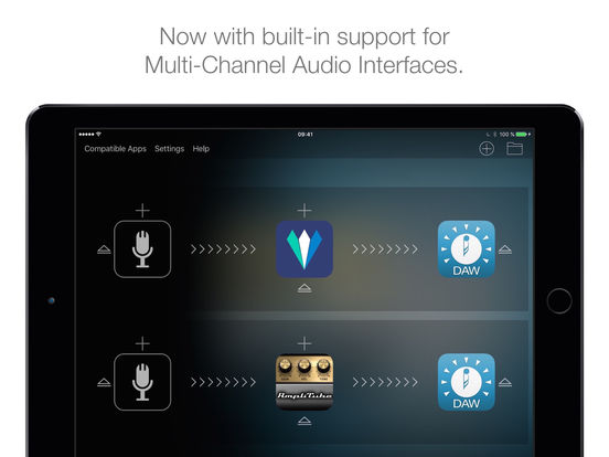 Audiobus 2 Screenshots
