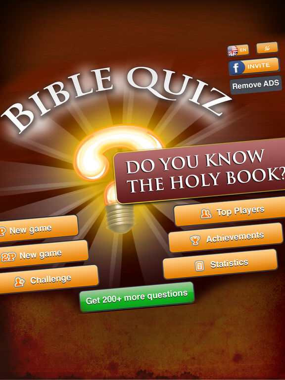 Bible Quiz Game Ⓑscreeshot 2