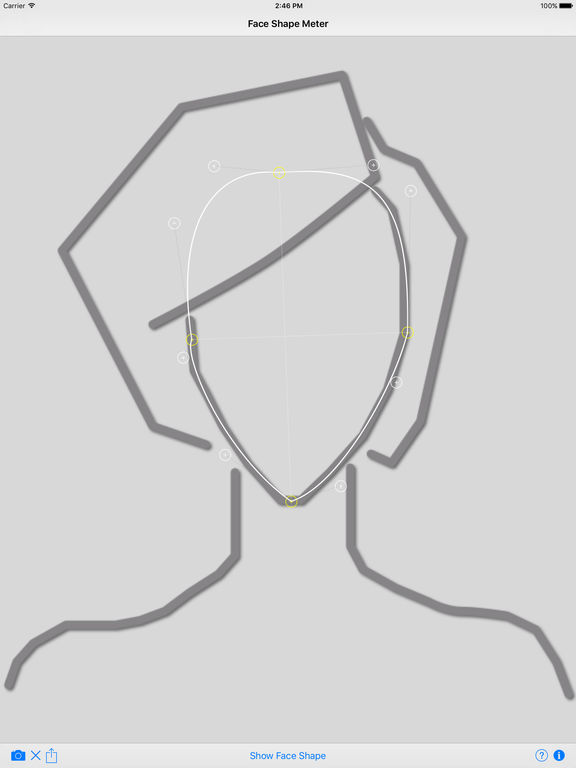 Face Shape Meter - find out your face shape from picture Screenshots