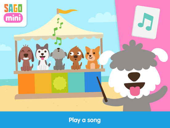 Sago Mini Puppy Preschool screenshot 9
