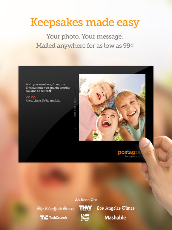 Postagram: Print & Send Photo Postcards screenshot