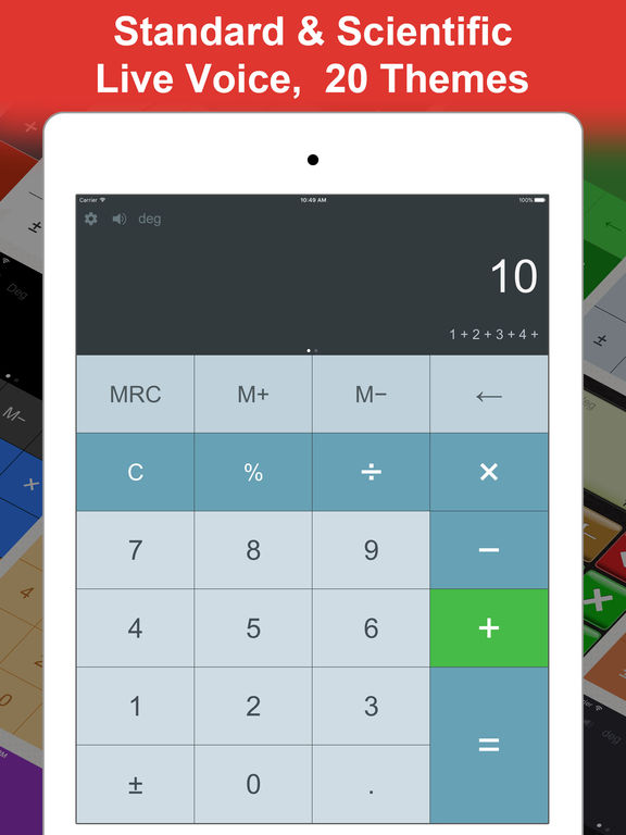 DayCalc Calculator HD Pro - Note Calculator Screenshots