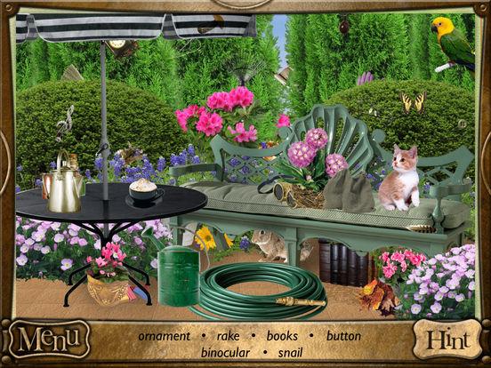 Alice in Wonderland: Hidden Objects Lite iPad Screenshot 2