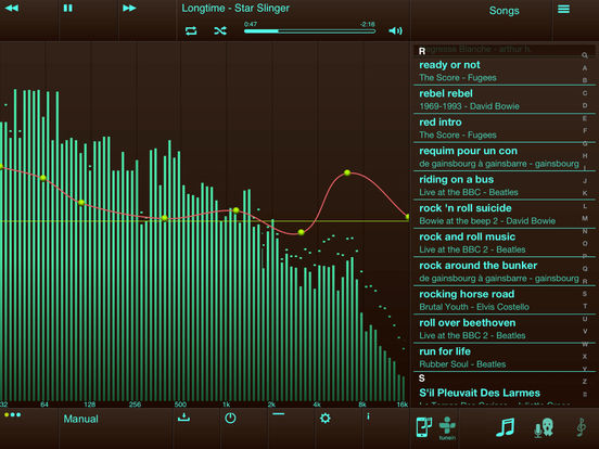 EQu - the quality equalizer iPad Screenshot 2