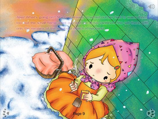 iBigToy Interactive Book-The Little Match Girl HD Lite iPad Screenshot 1