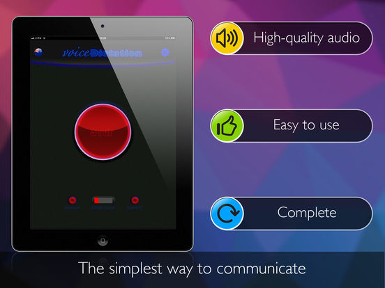 Voice Dictation (vocal dictation - voice message) Screenshots