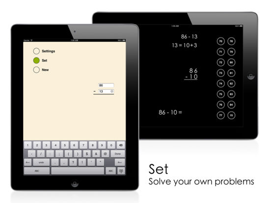 Left-to-Right Subtraction iPad Screenshot 3
