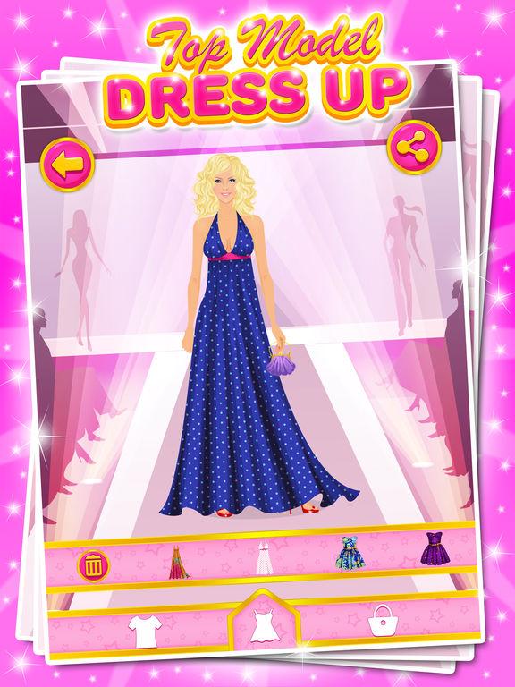 top model dress up games for girls