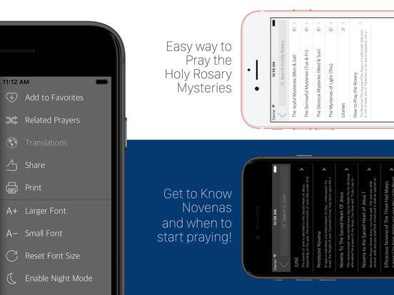 Prayer 2000+ Catholic Prayers by DivineOffice.org iPad Screenshot 2