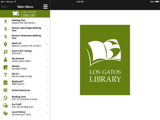 LGPL iPad Screenshot 1