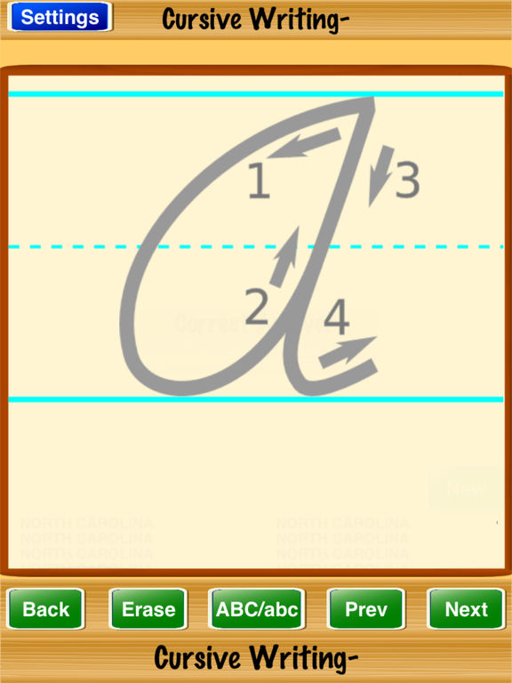 cursive writing app We teach cursive writing not because we love it but because we want  there  are several great apps that can be used to help familiarize your.