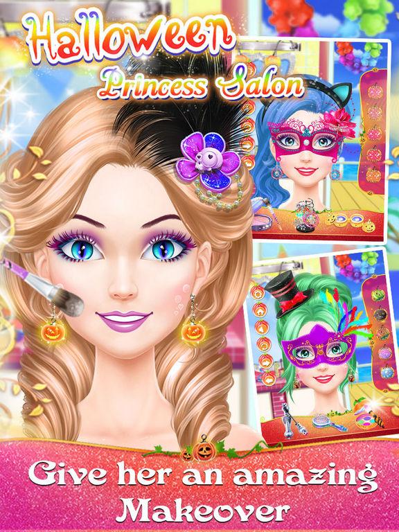Halloween Princess Salons screenshot 6