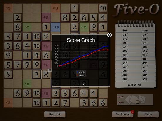 Five-O Lite iPad Screenshot 4