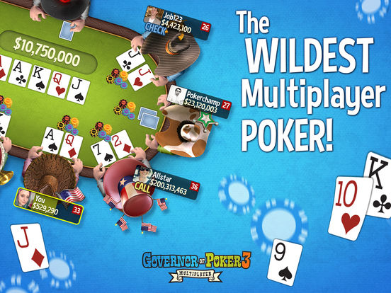 Governor of Poker 3 – Free Texas Holdem Poker screenshot