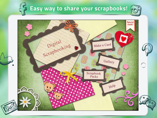 Digital Scrapbooking - Scrapbook Layouts & Ideas screenshot
