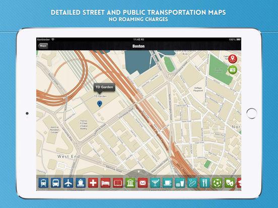 Boston: Travel Guide iPad Screenshot 4