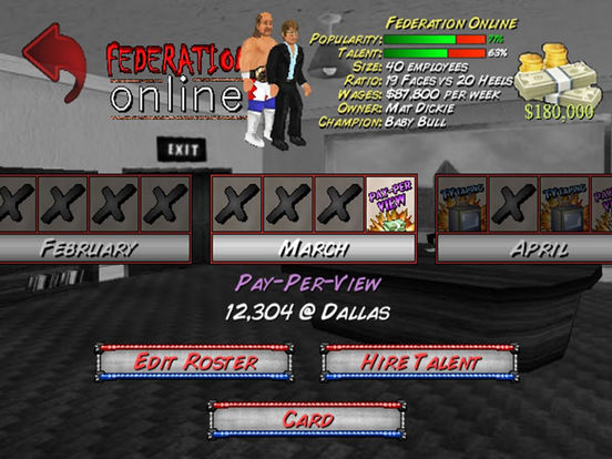 Игра Booking Revolution HD (Wrestling)