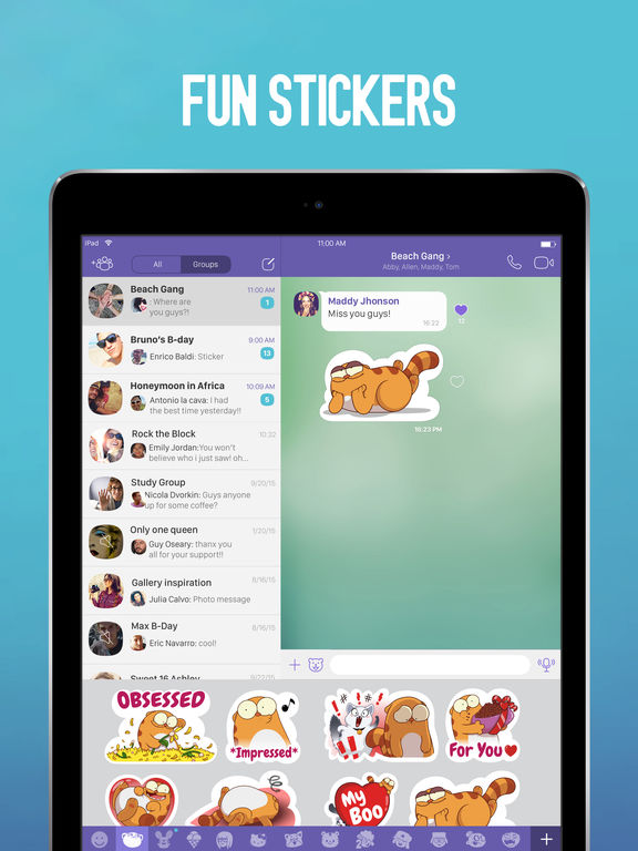 Viber Screenshots