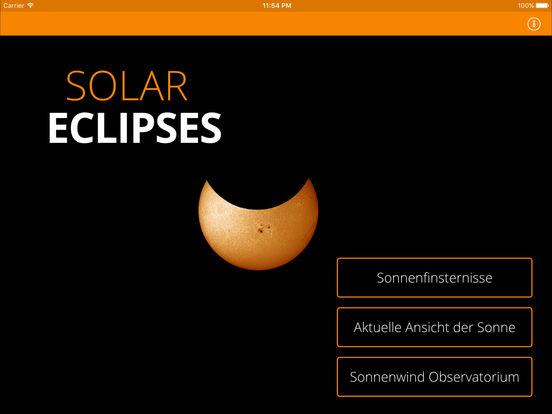 Solar Eclipses iPad Screenshot 1