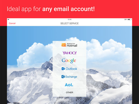 myMail – Email App for Hotmail, Gmail, Yahoo Mail Screenshot