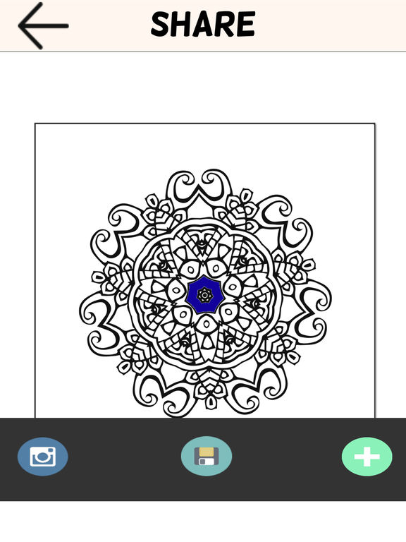 App Shopper Adult Coloring Book Color Therapy Pages