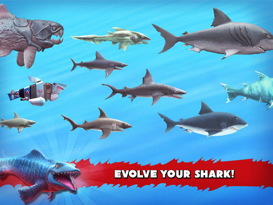 Hungry Shark Evolution Screenshots
