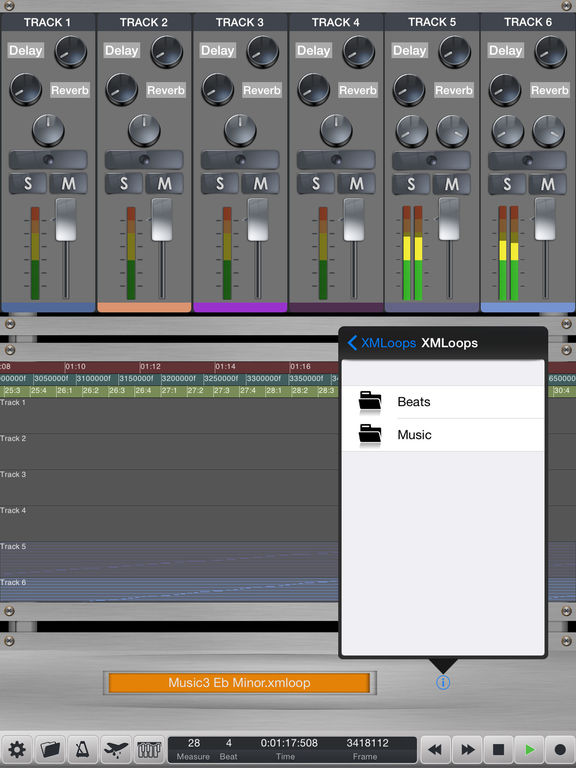 Rap-Studio Screenshots