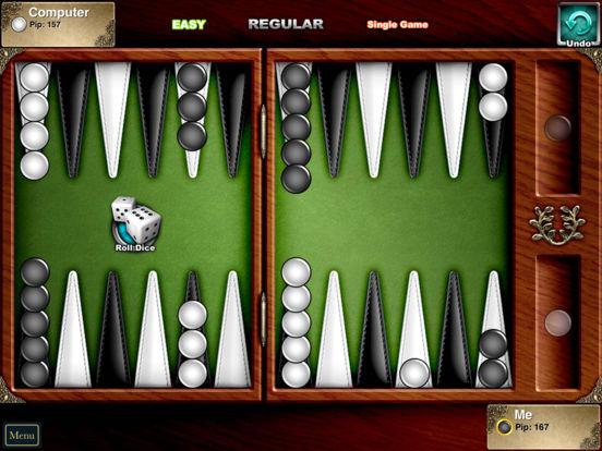 Backgammon Lite iPad Screenshot 1