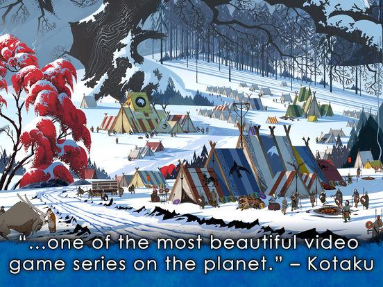 Screenshots of The Banner Saga 2 for iPad
