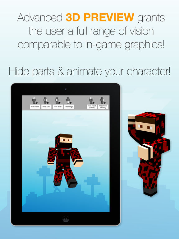 Skin Creator for Minecraft screenshot 9