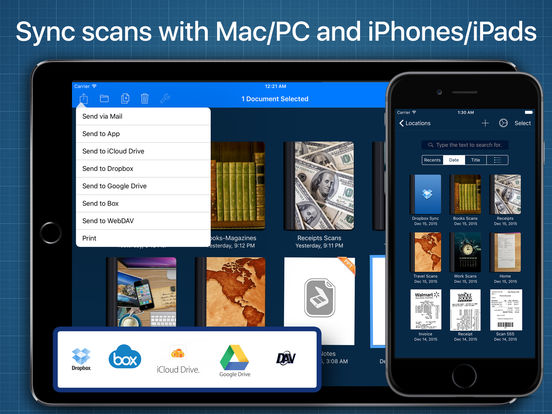 Scanner Studio - PDF Scanner with File Manager Screenshots