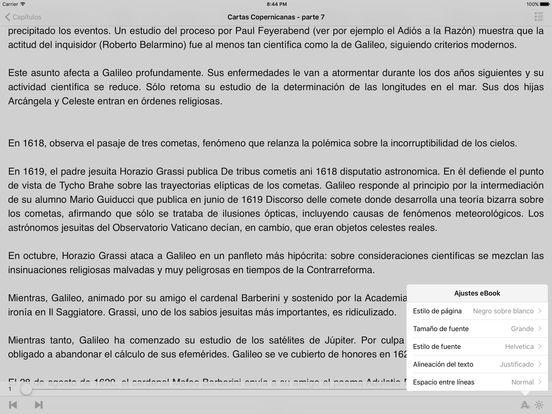 Galileo Galilei - Cartas Copernicanas iPad Screenshot 2