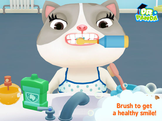 Dr. Panda Bath Time Screenshots