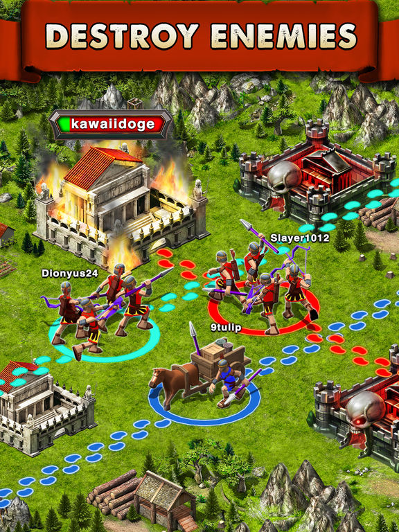 Screenshots of Game of War - Fire Age for iPad