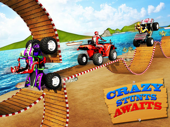 Beach Bike Stunts 2016 для iPad