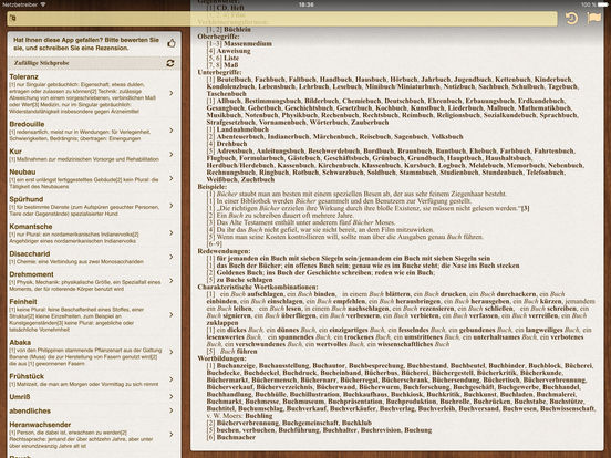 German BigDict iPad Screenshot 4