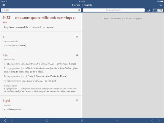 French-English Translation Dictionary by Ultralingua iPad Screenshot 3
