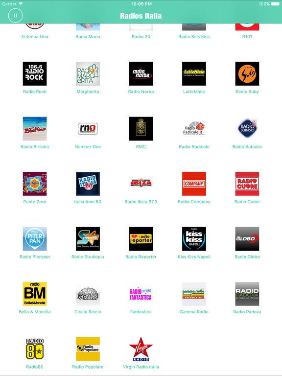 Radios Italia Pro (Italy Radio FM) Screenshots