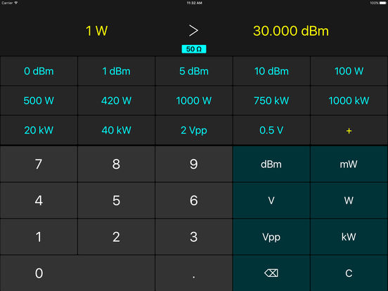 Power Units iPad Screenshot 1