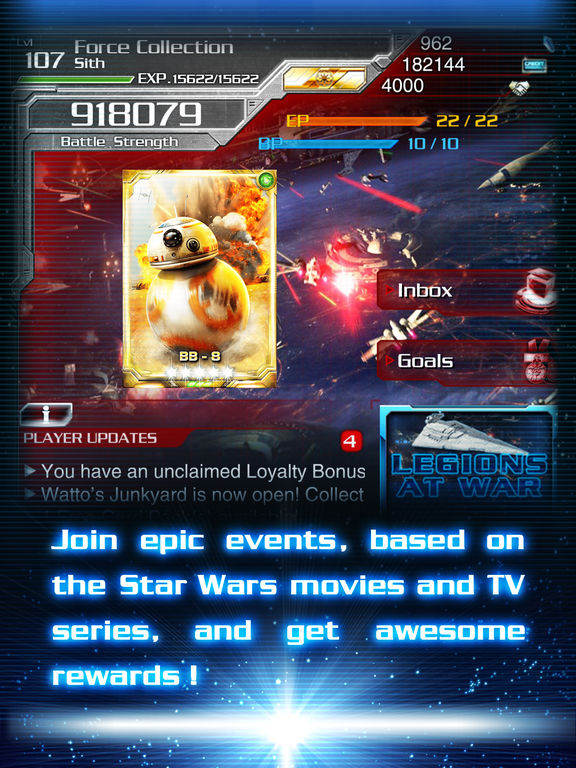 Star Wars Force Collection old versions - Android