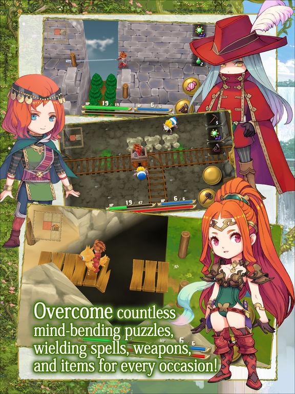 Скачать игру Adventures of Mana