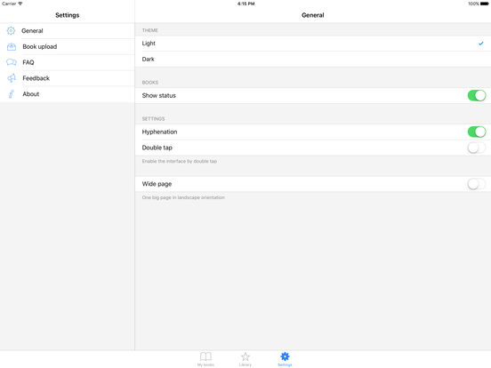 exLibris iPad Screenshot 5