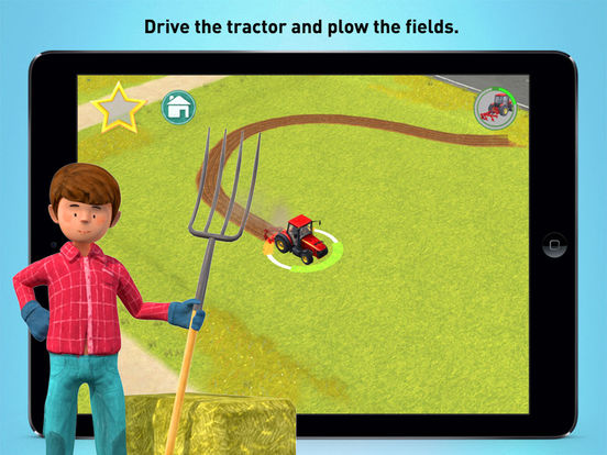 Little Farmers - Tractors and Harvesters for Kids Screenshots
