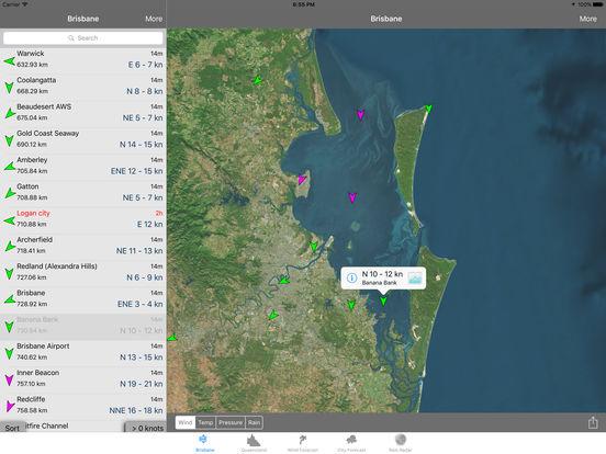 BrisWinds iPad Screenshot 1