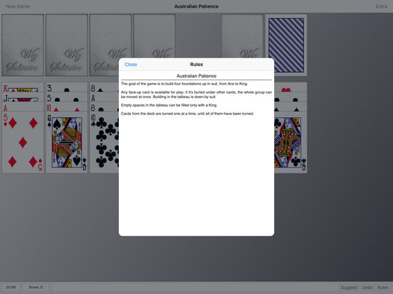 Wiz Solitaire iPad Screenshot 4