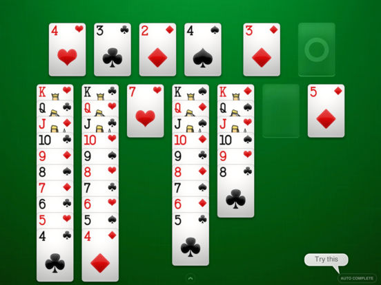 Screenshots of ⋆Solitaire for iPad