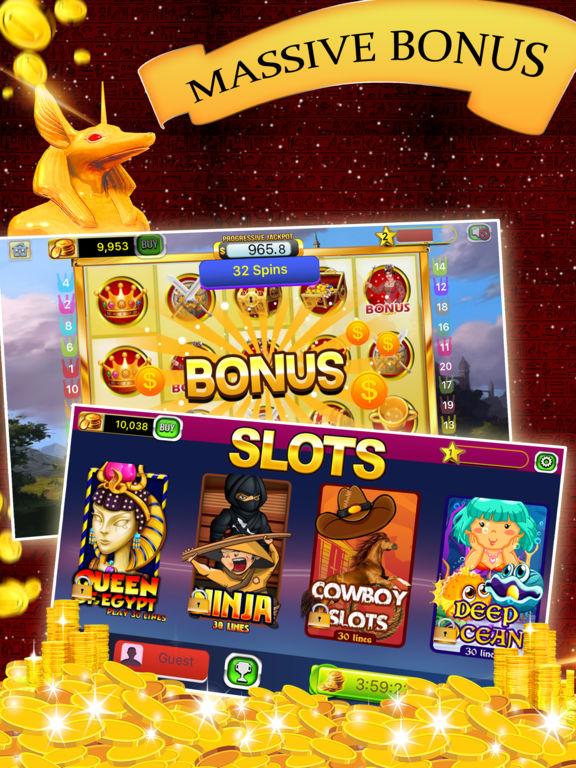 Free Las Vegas Casino Slots Machines Games - Super Win Lucky Jackpot-ipad-2